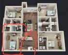 $575, Furnished, All Bills Paid, Individual Sub-Lease, Aug 1st, 4 Bed/ 4 Bath, University Village