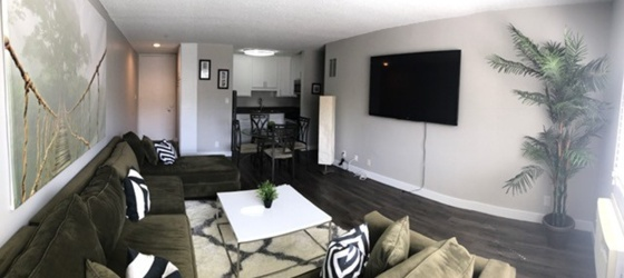 FULLY FURNISHED APARTMENT NEAR UCLA + UTILITY INCLUDED FLEXIBLE LEASE TERM
