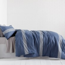 Stanton Stripe Comforter and Sham Set - Full/Queen