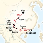 Classic Hong Kong to Xi'an Adventure