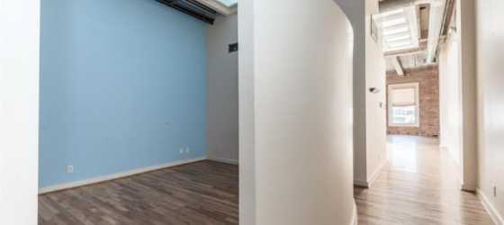 Downtown Loft for Lease