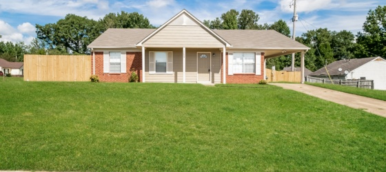 3 bedroom North Memphis