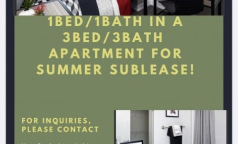 Sublets Near La Roche SUMMER SUBLEASE FROM APRIL-JULY 2020 AT ONE ON CENTRE APARTMENTS for La Roche College Students in Pittsburgh, PA