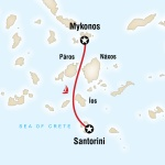 Sailing Greece - Santorini to Mykonos