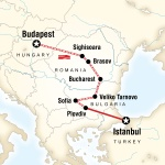 Budapest to Istanbul by Rail