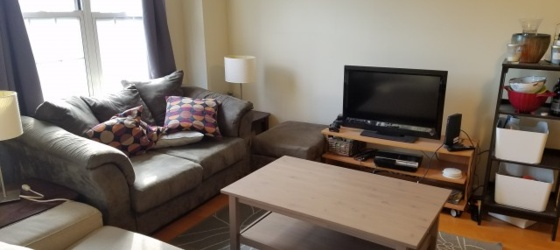 Furnished sublet available January to June 2019 in the Callowhill neighborhood