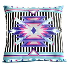 Aztec Pillow - Purple