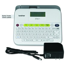 Brother P-touch PTD400AD Label Maker With AC Adapter